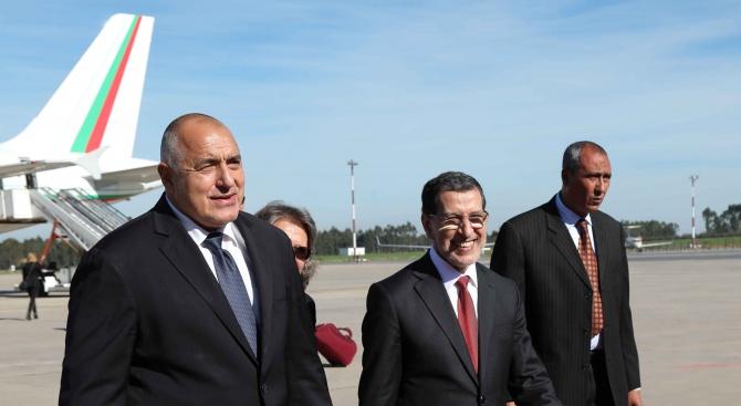 Бойко Борисов пристигна на официално посещение в Кралство Мароко (снимки)
