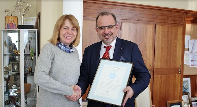 Фандъкова се срещна с президента на социалния икономически комитет