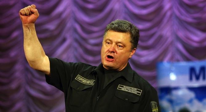 Порошенко: Русия няма да се откаже от плана си да разшири своята окупация на Украйна
