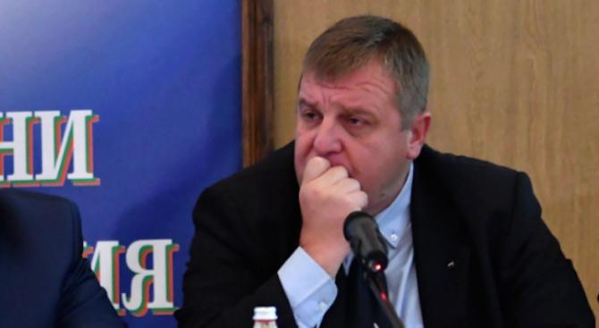 """Каракачанов: Коалиция """"Обединени патриоти"""" е хлабава"""