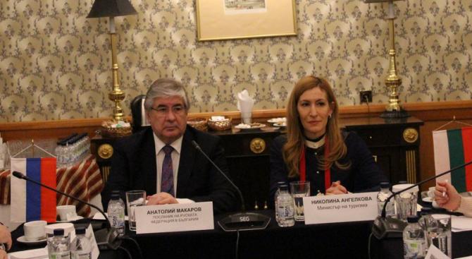 Министър Ангелкова проведе работна среща с посланик Макаров и туроператори, работещи на пазар Русия
