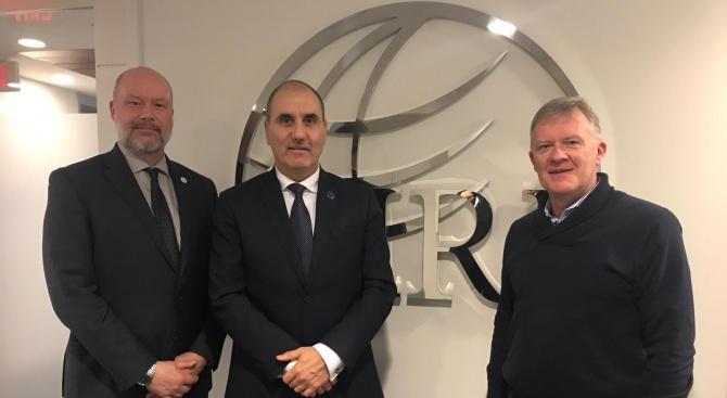 Цветан Цветанов проведе работни срещи с представители на Международния Републикански институт
