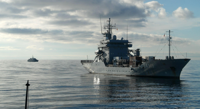 Няма засилено присъствие на военни кораби в Черно море заради кризата между Русия и Украйна