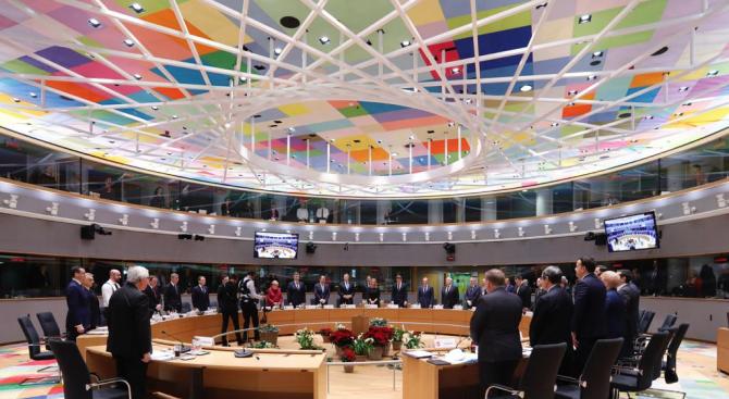 Европейските лидери почетоха с минута мълчание жертвите на атаката в Страсбург
