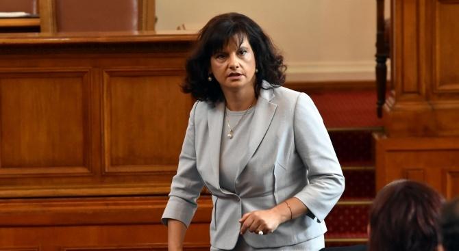 Даниела Дариткова: Не е застрашено обучението на студентите от Медицинския факултет на СУ