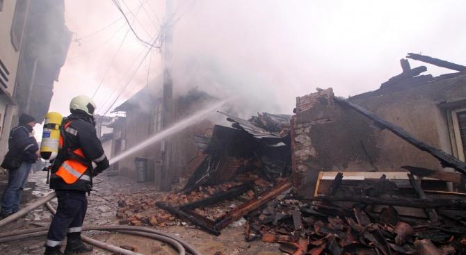 Мъж загина при пожарв дома си в бургаското село Суходол