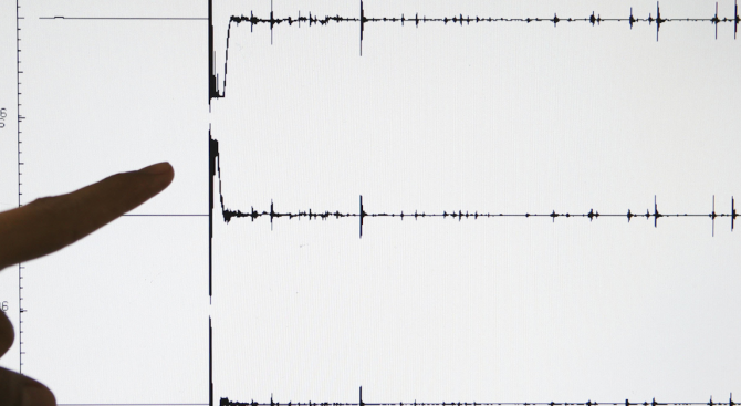 Земетресение разлюля Пловдивско