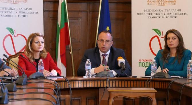 """Над 2,5 млрд. лева са изплатените средства в сектор """"Земеделие"""" през 2018 г."""