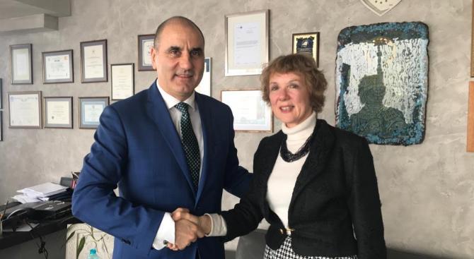 Цветанов проведе работна среща с посланика на Кралство Нидерландия в България