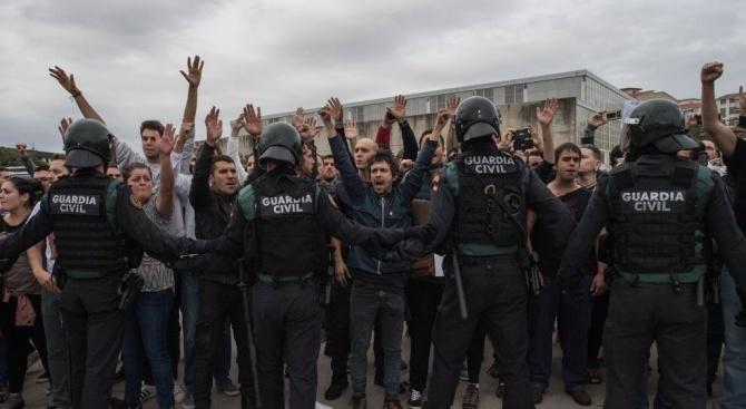 Протестни акции в Каталуния: Над 50 души са ранени