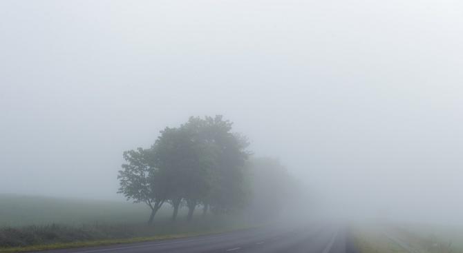 Гъста мъгла е имало в района на катастрофата край Звъничево