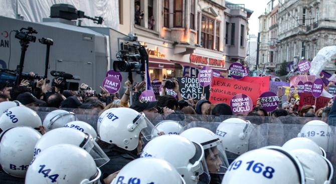 Хиляди протестираха в Истанбул срещу поскъпването на живота
