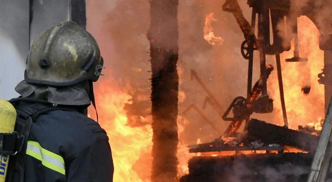 Трудноподвижен мъж почина при пожар в дома си