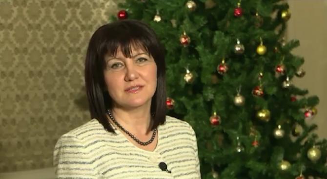 Цвета Караянчева: Нека Рождество да ви донесе само хубави емоции (видео)