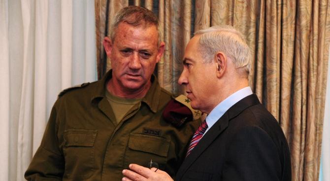 Бивш генерал предизвиква изралеския премиер Бенямин Нетаняху на вота за Кнесет