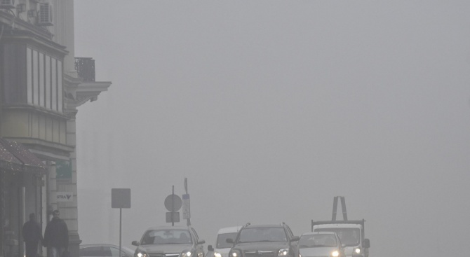 Внимание, шофьори! Гъста мъгла по пътя между Видин и Димово