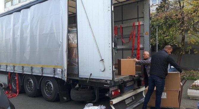 Столичното БЧК започва поетапно раздаването на хранителни продукти за нуждаещи се граждани
