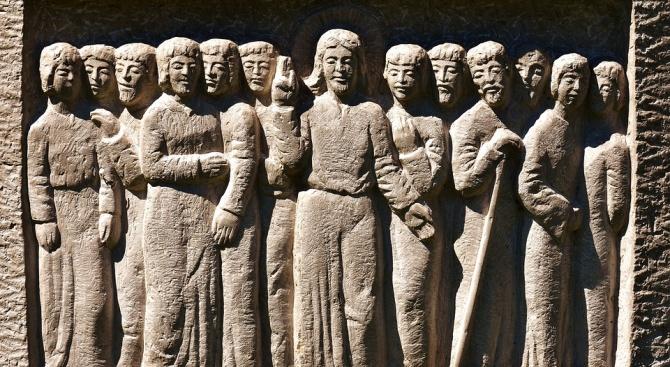 Църквата чества паметта на свети 70 апостоли