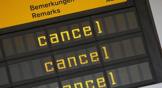 Стачка обърква въздушния трафик вГермания