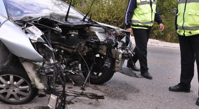 Пиян шофьор катастрофира в Свети влас