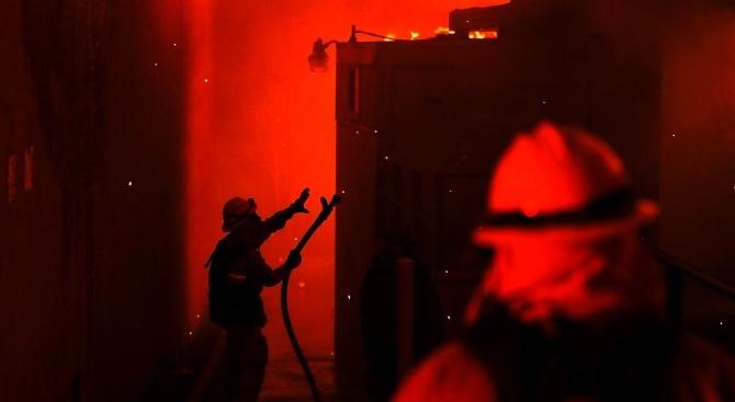 Огромни щети причини пожарът в психодиспансера в София