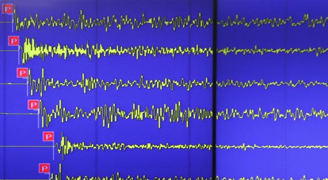 Силно земетресение в Аляска