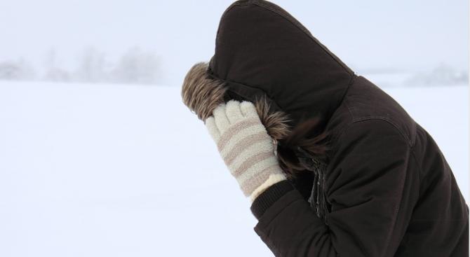 До минус 21 градуса спаднаха температурите в Северна Гърция