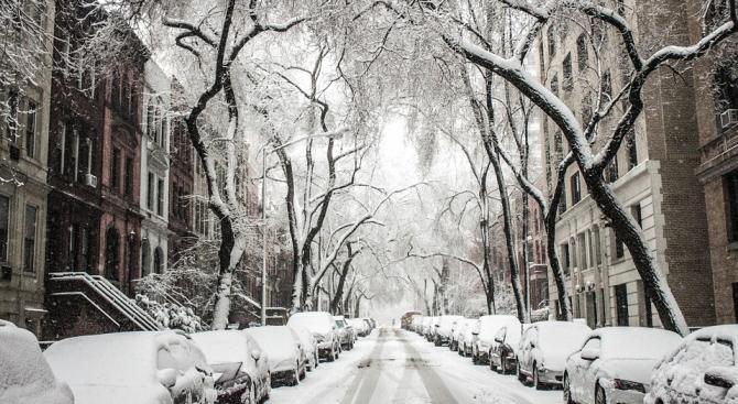 В Сърбия е обявена трета степен на опасност от силен снеговалеж