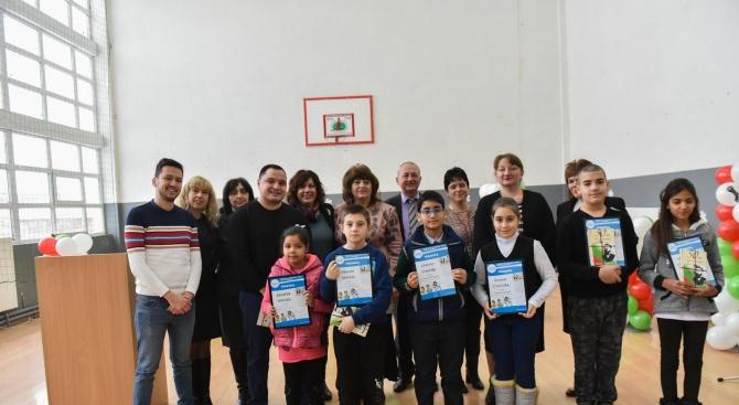 Петима ученици от с. Крушовица получиха стипендии за развитие на талантите им