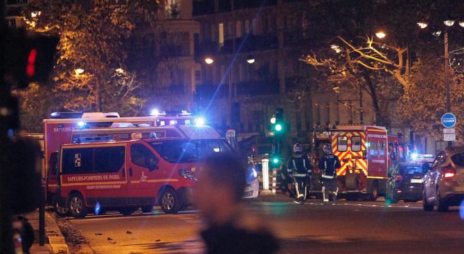 Четирима пожарникари са в тежко състояние след взрива в Париж