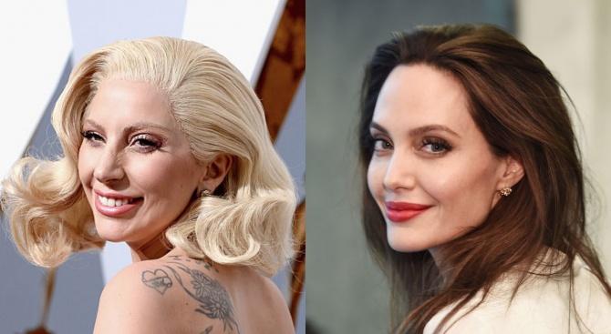 Лейди Гага и Анджелина Джоли си съперничат за филмова роля