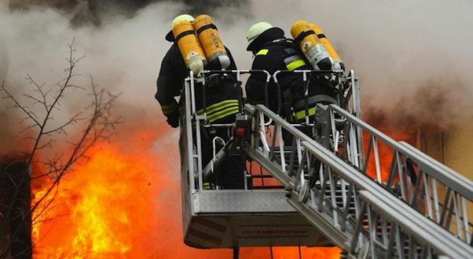 Пожар горя в складово помещение в детска градина