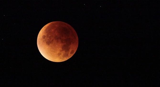 Пълното лунно затъмнение на 21 януари ще е последното до 2022 г.