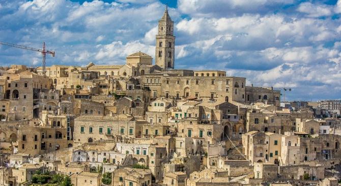 Град Матера става официално европейска столица на културата за 2019 г.