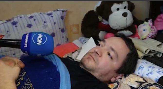 Зов за помощ: Самотен баща се бори със заболяване на гръбначния стълб