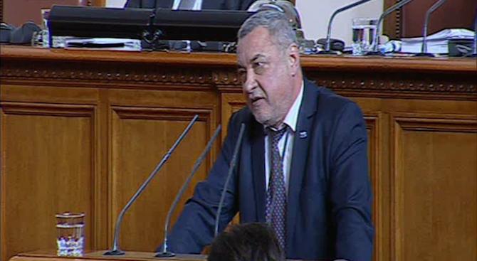 Валери Симеонов: Позорни са днешните дебати (видео)