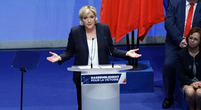 Марин Льо Пен осъди мултикултурализма в Европа