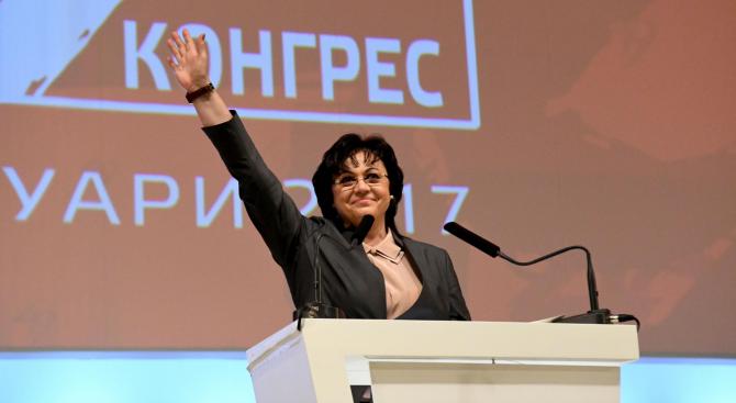 Нинова ще представи задачите пред БСП на днешния Конгрес на партията
