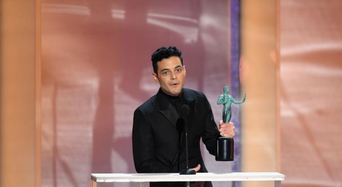 """Рами Малек спечели наградатана Гилдията на филмовите актьори за """"Бохемска рапсодия"""" (видео+снимки)"""