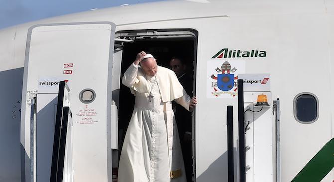 Приключи посещението на папа Франциск в Панама