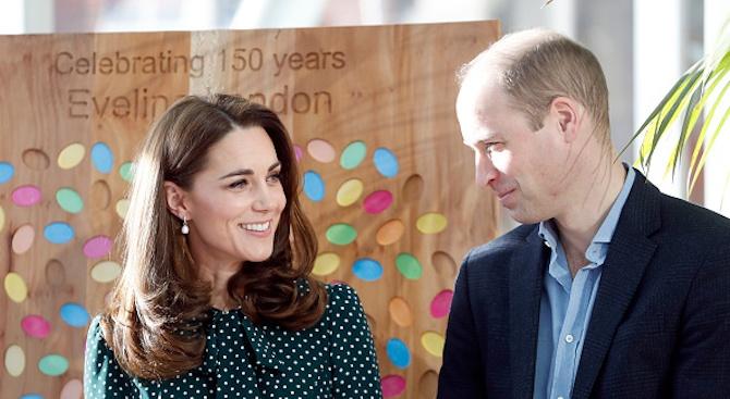Принц Уилям и съпругата му помогнаха за възраждането на хокея на лед с топка във Великобритания