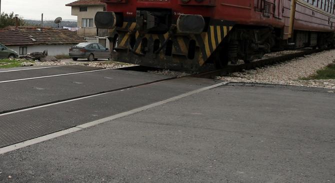 """Железопътният прелез """"Казичене"""" - ул. """"Серафим Стоев"""" се затваря"""