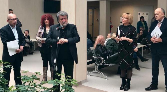 Вежди Рашидов подкрепи кампанията за борба с онкологичните заболявания