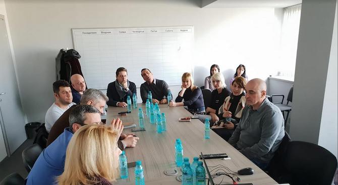 Областният предизборен щаб на ГЕРБ-София проведе поредното си заседание