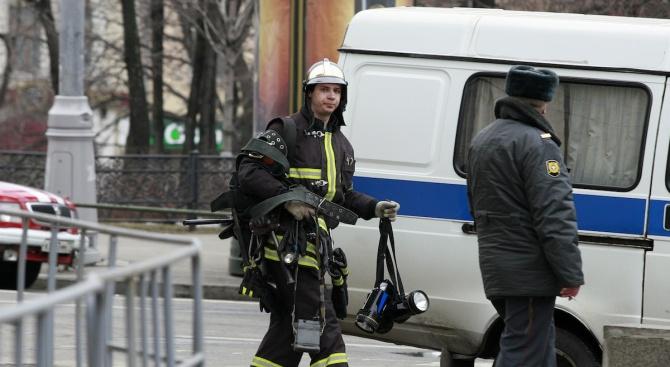 Удвои се броят на жертвите на московския пожар (видео)
