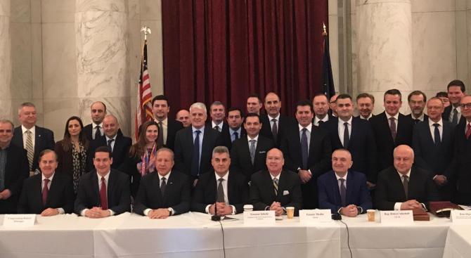 Цветанов участва в Конференция по въпросите на сигурността в Югоизточна Европа и Черноморския регион във Вашингтон (снимки)