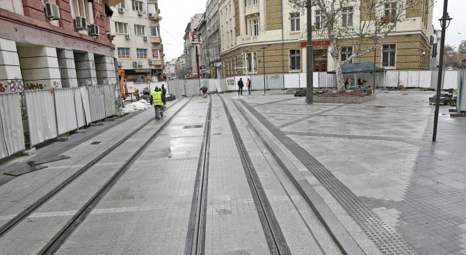 """Строителните дейности по ул. """"Граф Игнатиев"""" са възобновени"""