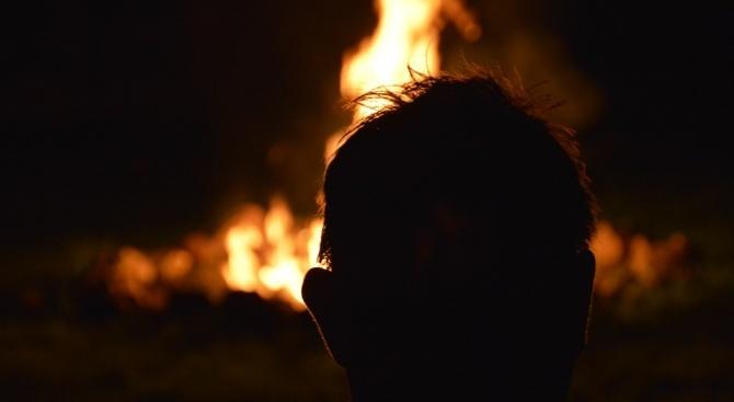 Баща на две деца се самозапали