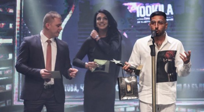 """100 Кила стана """"Рапър на годината"""" за 6-ти път"""