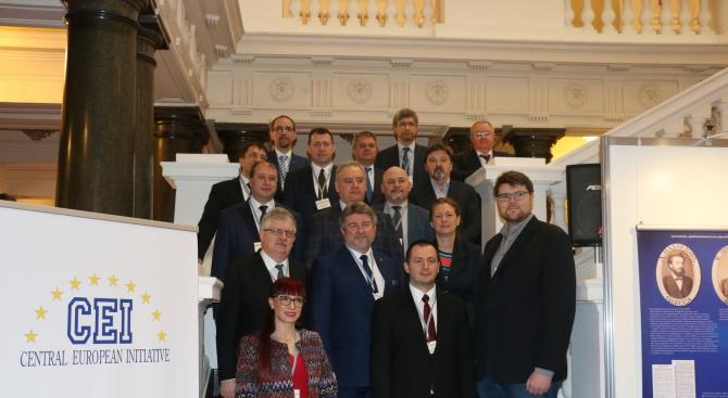 Народният представител от ГЕРБ Даниела Савеклиева участва в във форум на Централноевропейската инициатива